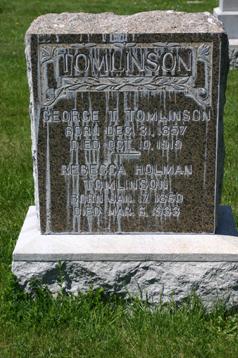 Rebecca <I>Holman</I> Tomlinson
