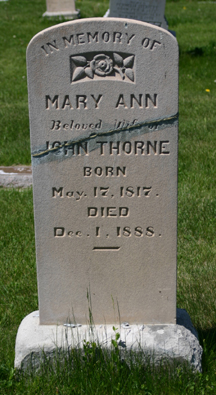 Mary Ann Thorne