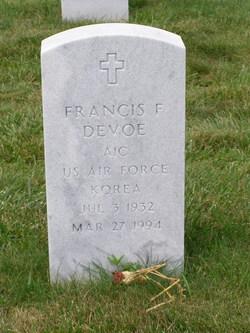 Francis F Devoe