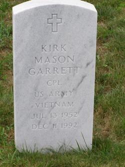 Kirk Mason Garrett