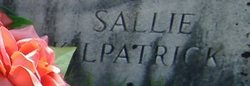 "Sarah Jane ""Sallie"" <I>Coffey</I> Kilpatrick"