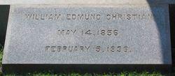 William Edmund Christian