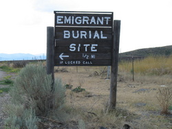 Emigrant Burial Site
