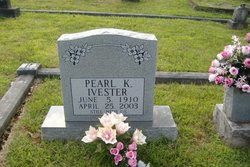 Pearl Louellen <I>Kilpatrick</I> Ivester