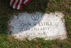John W Estile