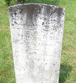 Pvt Moses L. Tichenor