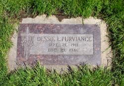 Dessie Leola <I>McCready</I> Purviance