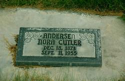 Nora <I>Cutler</I> Andersen