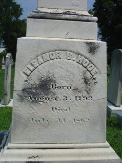 Eleanor Buchanan <I>Briscoe</I> Hooe