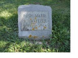 Rose Marie <I>Potter</I> Schweitzer