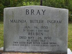 Malinda Ingram <I>Butler</I> Bray