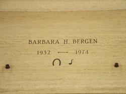 Barbara H. Bergen