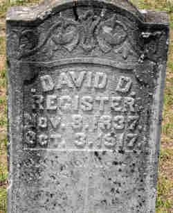 David D Register