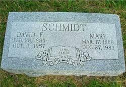 Mary <I>Goertz</I> Schmidt