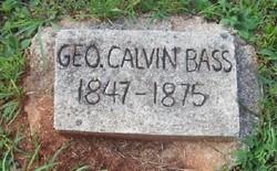 George Calvin Bass