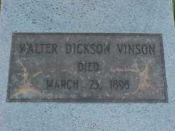 Walter Dickson Vinson