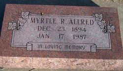 Myrtle R Allred