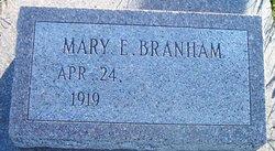 Mary Elizabeth <I>Means</I> Branham