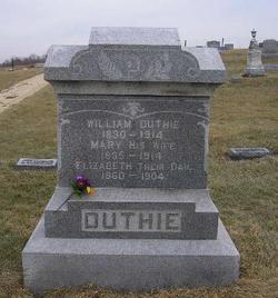 Mary <I>Robertson</I> Duthie