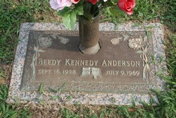 Beedy <I>Kennedy</I> Anderson