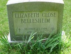 """Elizabeth """"Hettie"""" <I>Close</I> Bellesheim"""