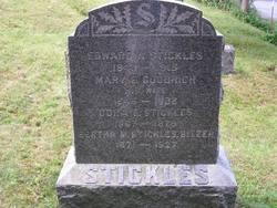 Bertha M. <I>Stickles</I> Bitzer
