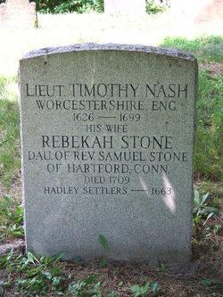 Rebekah <I>Stone</I> Nash