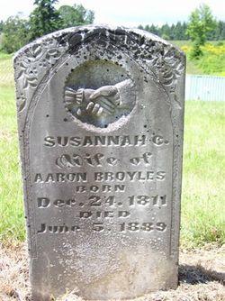 Susannah Catherine <I>Quick Frantz</I> Broyles