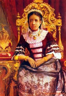 Queen Ranavalona, III