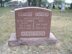 Mettie <I>Fleming</I> Henderson