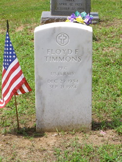 Floyd F Timmons