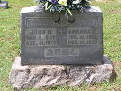 Amanda <I>Able</I> Abel