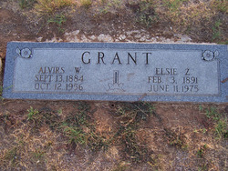 Elsie Zula <I>Gaddie</I> Grant