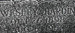 John Wesley Hardin, III