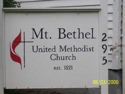 Mount Bethel United Methodist Cemetery