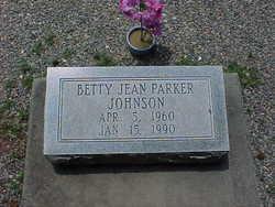 Betty Jean <I>Parker</I> Johnson