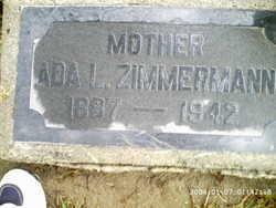 Ada <I>Betz</I> Zimmerman