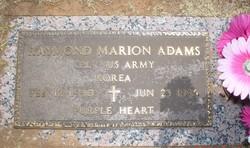 Corp Raymond Marion Adams