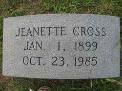Jeanette Cross