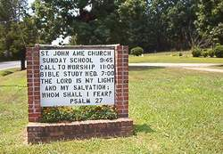Saint John AME Church Cemetery