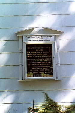 Fresh Ponds Gospel Mission Chapel Cemetery