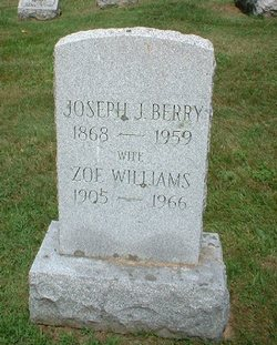 Zoe <I>Williams</I> Berry