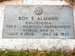 Roy E Almand