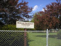 Miriam Benedict Cemetery