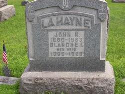 Blanche Irene <I>Gustafson</I> LaHayne