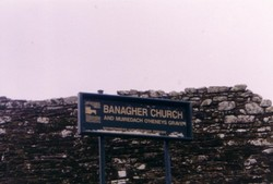 Banagher Old Church ruins