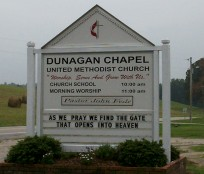 Dunagan Chapel United Methodist Church Cemetery
