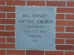 Big Sandy Baptist Church Cemetery