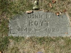 John R Hoyt