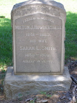 Sarah L <I>Smith</I> Howdershell